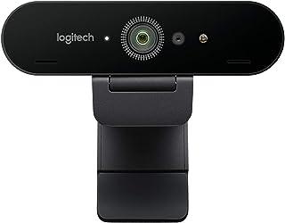Logitech Business Brio - Webcam Ultra HD para videoconferencias, grabaciones y Streaming (Reacondicionado)