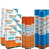 ARDAP Set 3 x 750 ml Ungezieferspray + 3 x 400 ml Flohspray + 6 x 100 ml Fogger -