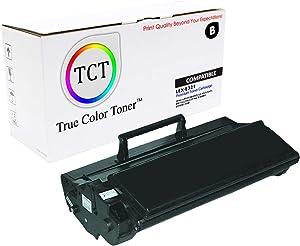 TCT Premium Compatible Toner Cartridge Replacement for Lexmark E321 12A7305 Black Works with Lexmark E220 E323, IBM 1312, Dell P1500, Toshia eStudio 190P Printers (6,000 Pages)
