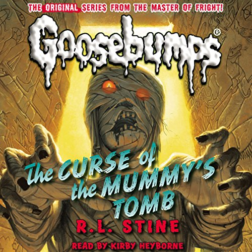 Page de couverture de Classic Goosebumps: The Curse of the Mummy's Tomb