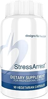 Designs for Health StressArrest - 300mg GABA + 200mg Glycine + 100mg Niacinamide (Vitamin B3) to Promote Calm (90 Capsules)
