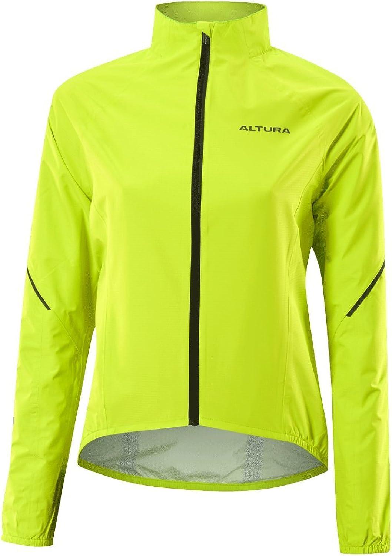 Altura HiViz Yellow 2017 Flite 2 Womens Cycling Waterproof Jacket