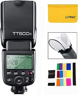 【技適マーク付き】GODOX TT600S GN60 カメラフラッシュ スピードライト ビルトイン Godox 2.4G Xワイヤレスシステム SONY カメラ専用 A6000、A6000、A7、A7S、A7R、A7SII、A7SII、A7SII(MIホットシュー)に適しています