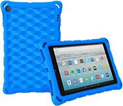 All-New Amazon Fire HD 10 Tablet Case (2019 2017 2015 Released)-Mr.Spades [Adult Friendly] [Kids Friendly] [Four Corner Pr...