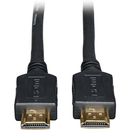 Tripp Lite High Speed HDMI Cable, HD 1080p, Digital Video with Audio (M/M), Black, 20-ft. (P568-020)