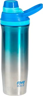 22oz Double Wall Stainless Steel Vacuum Insulated Bottle With Extra Lid - Hot & Cold Cody (Blue)