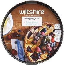 Wiltshire Tart & Quiche Pan, 25cm, Charcoal Grey