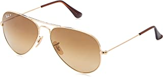 Ray-Ban Aviator Classic, Shiny Gold, 58 mm