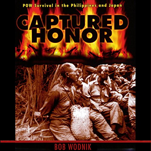 Captured Honor audiobook cover art