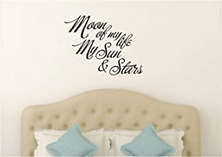 Moon of my life My Sun and Stars Game of Thrones quote Bedroom Decor Moon of my life Game of Thrones quote Faithful Saying for Wall Motivational Wall Words Inspirational Wall Decal