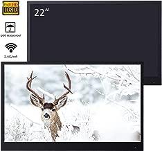 $539 » Soulaca 22 inches Black Smart Bathroom LED TV Waterproof SPA 1080P Android 7.1 ATSC/DVB