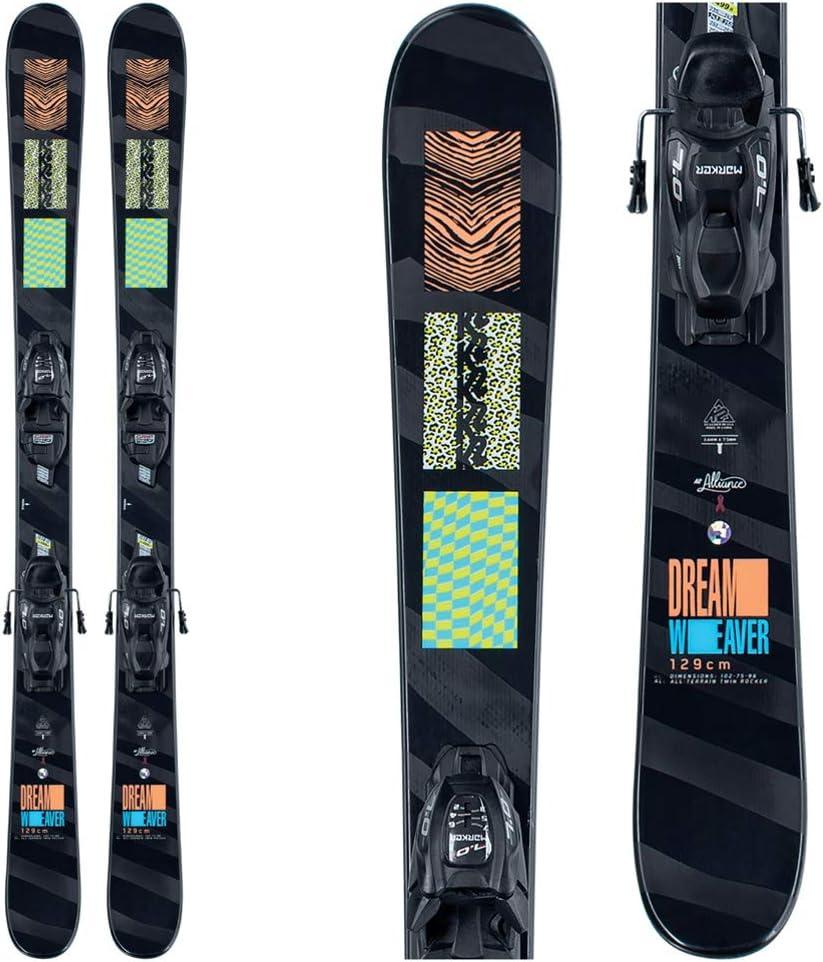 K2 Dreamweaver Kids Skis with Jr Bindings FDT 7.0 Price reduction Manufacturer regenerated product