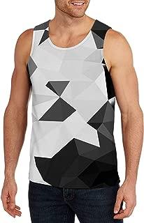 Belovecol Mens 3D Print Graphic Cool Tank Tops Summer Casual Sleeveless Crewneck Tees T-Shirts S-XXL