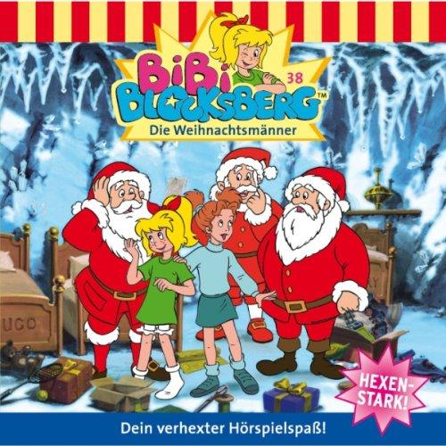 Die Weihnachtsmänner (Bibi Blocksberg 38) Titelbild