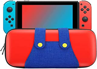 Travel Carrying Case for Nintendo Switch Game Bag Protective Hard Shell Portable Cute Pouch Holds 10 Game Cartridge for Sw...