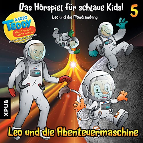 Leo und die Mondlandung audiobook cover art