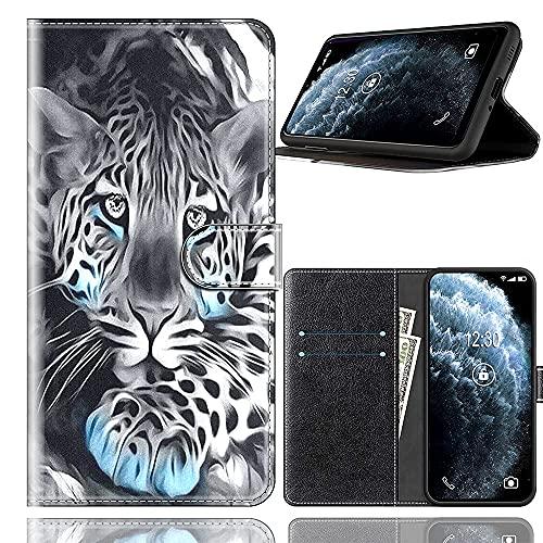 Sinyunron Handy Schutzhülle Kompatibel mit DOOGEE BL12000 Hülle Handy Tasche Hülle Handyhülle Lederhülle mit Kartenfächer,Ständer,Magnetverschluss,Hülle07C