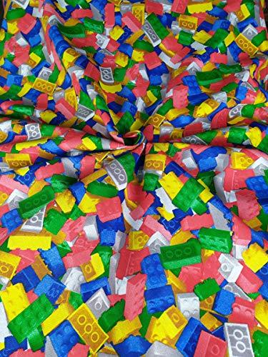 Generico Stoffa e Tessuti in Cotone Teli GranFoualr per Cucito Metro 280 cm x 280 cm più di 30 Disegni per Divani Mantovane Cadute Laterali Tavola Cuscini Sedie Copritutto (202)