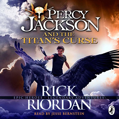 The Titan's Curse: Percy Jackson, Book 3 audiobook cover art