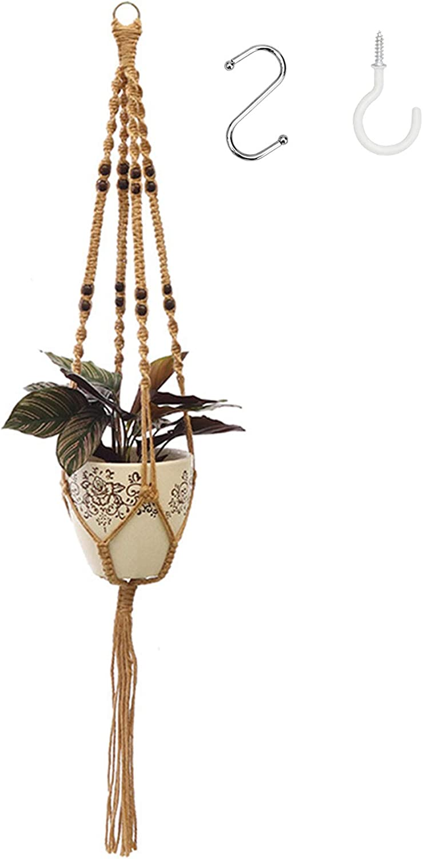 cheap Industry No. 1 Macrame Plant Hangers Indoor Hanging F Planter Basket Decorative