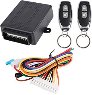 X AUTOHAUX Universal Car Remote Central Kit Door Lock Keyless Entry System - DC 12V Only