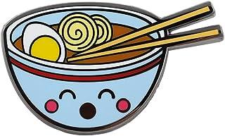 09a36099c REAL SIC Ramen Enamel Pin - Cute Kawaii Noodle Lapel Pin - Ramen Fashion  Accessory for