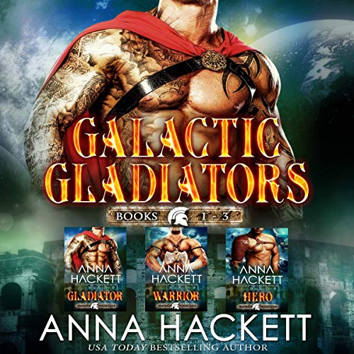 Galactic Gladiators Set: Books 1-3  By  cover art