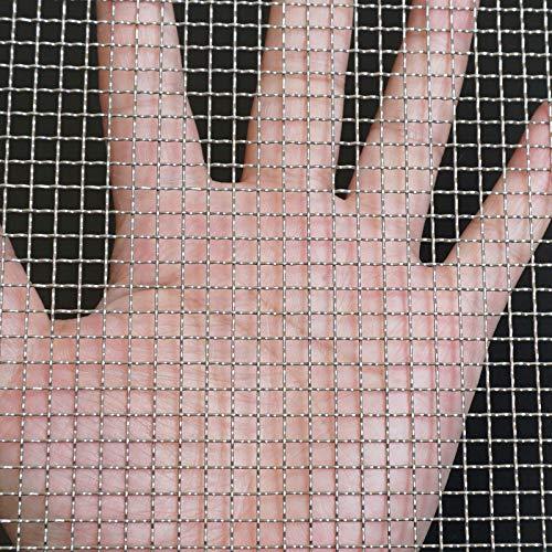 """304 in acciaio inox tessuto filo 5 maglia - 16 \""""X 40\"""" (40 cmX100 cm) per ventilatore, gabbia per animali, sicurezza, gabinetti maglia"""