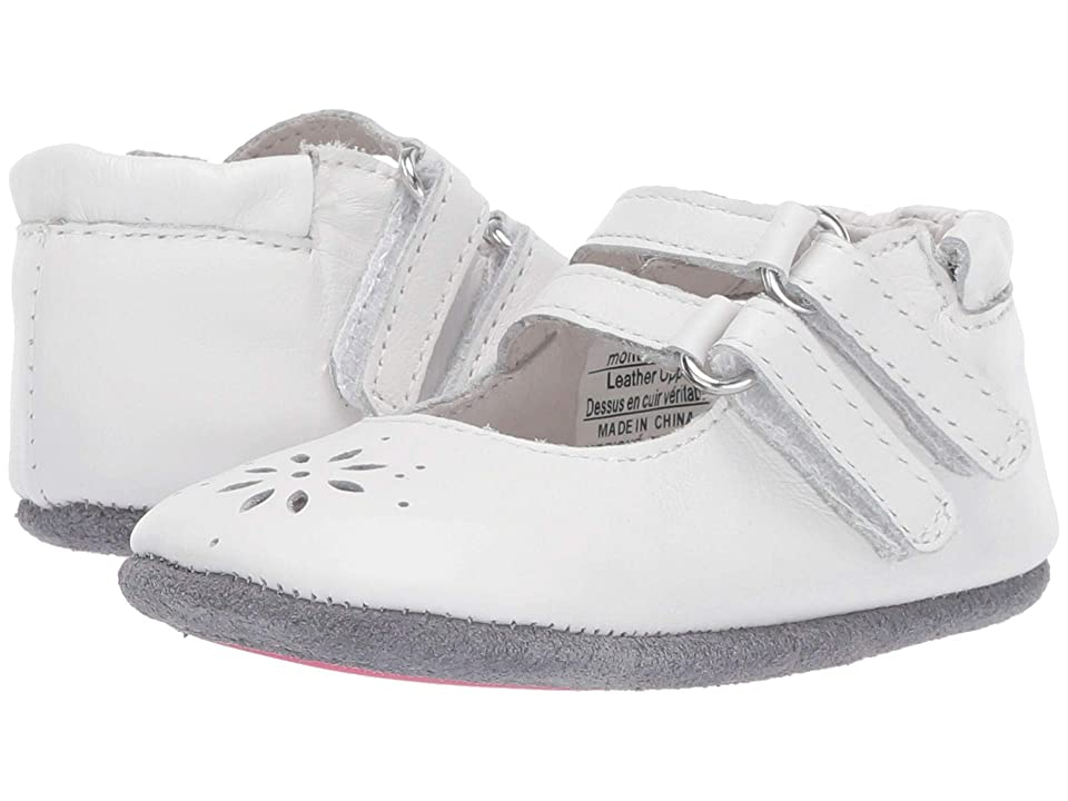 Robeez Audrey Mini Shoez (Infant/Toddler) (White) Girl