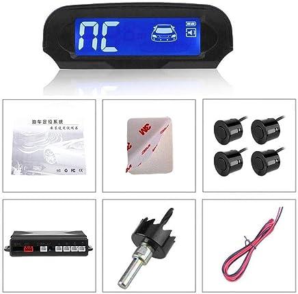 Dubleir Sistema inalámbrico de energía Solar con Sensor de Aparcamiento para automóviles Automovil Sistema de Asistencia
