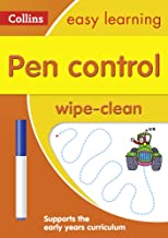 Pen Control Age 3-5 Wipe Clean Activity Book