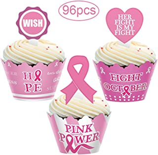breast cancer cupcake liners