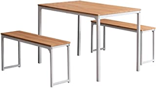 Bonzy Home Dining Room Table Set 3, 3 Piece Kitchen Table...