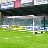 FORZA Alu110 Freestanding Stadium Box Football Goals – Single Goal Only Wheels Not Included (CHOOSE YOUR SIZE) (12ft x 6ft)