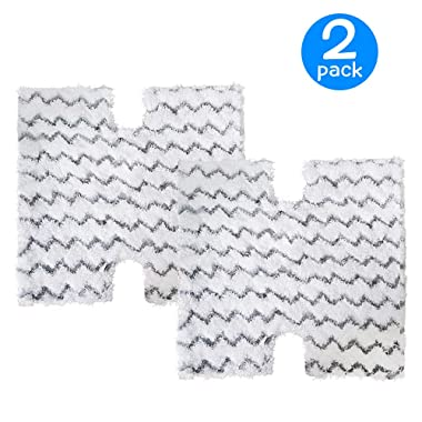 2-Pack Replacement Steaming Mop Pads for Shark Lift-Away Pro Steam Pocket Mop & Genius Steam Pocket Mop Series|Compare to Shark Part XTP184