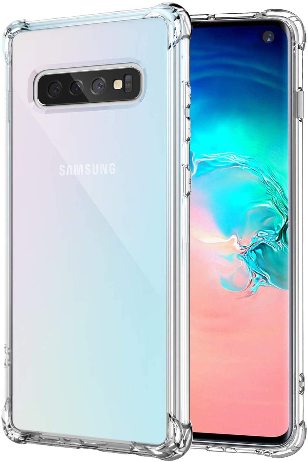 Galaxy S10 Case Ultra Max 44% OFFer OFF Crystal Shockproof Clear Protective Bumper