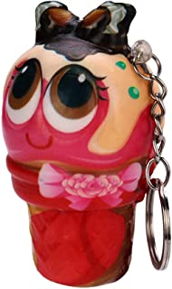 Ice Cream Doll Pendant Scented Charm Slow Rising Collection Stress Reliever Toys