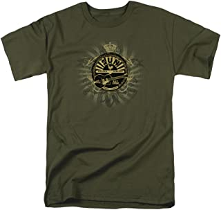 Sun Records Rock Heraldry Adult T-Shirt