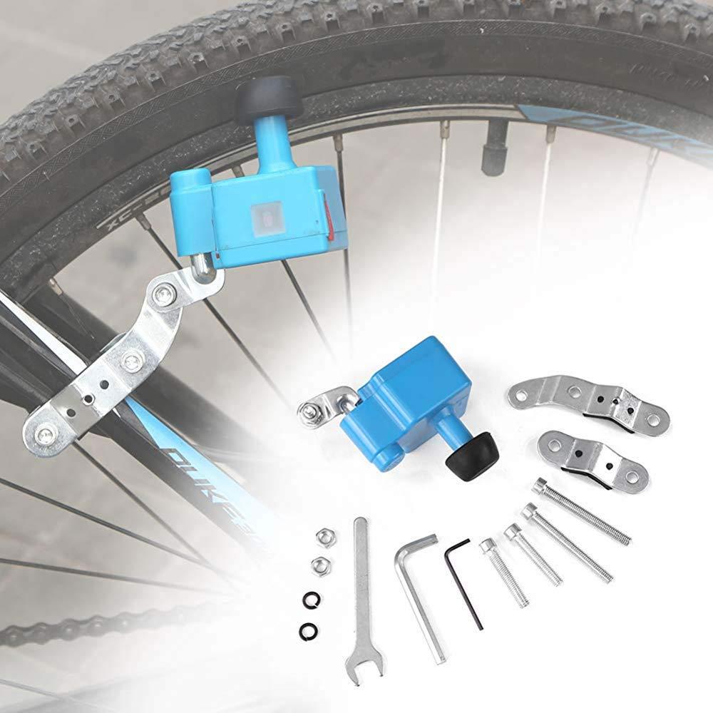 Hi-Fun Generador de Bicicleta Eléctrico Impermeable Dinamo ...
