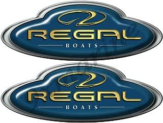 Regal Boat Oval Decal/Sticker Set
