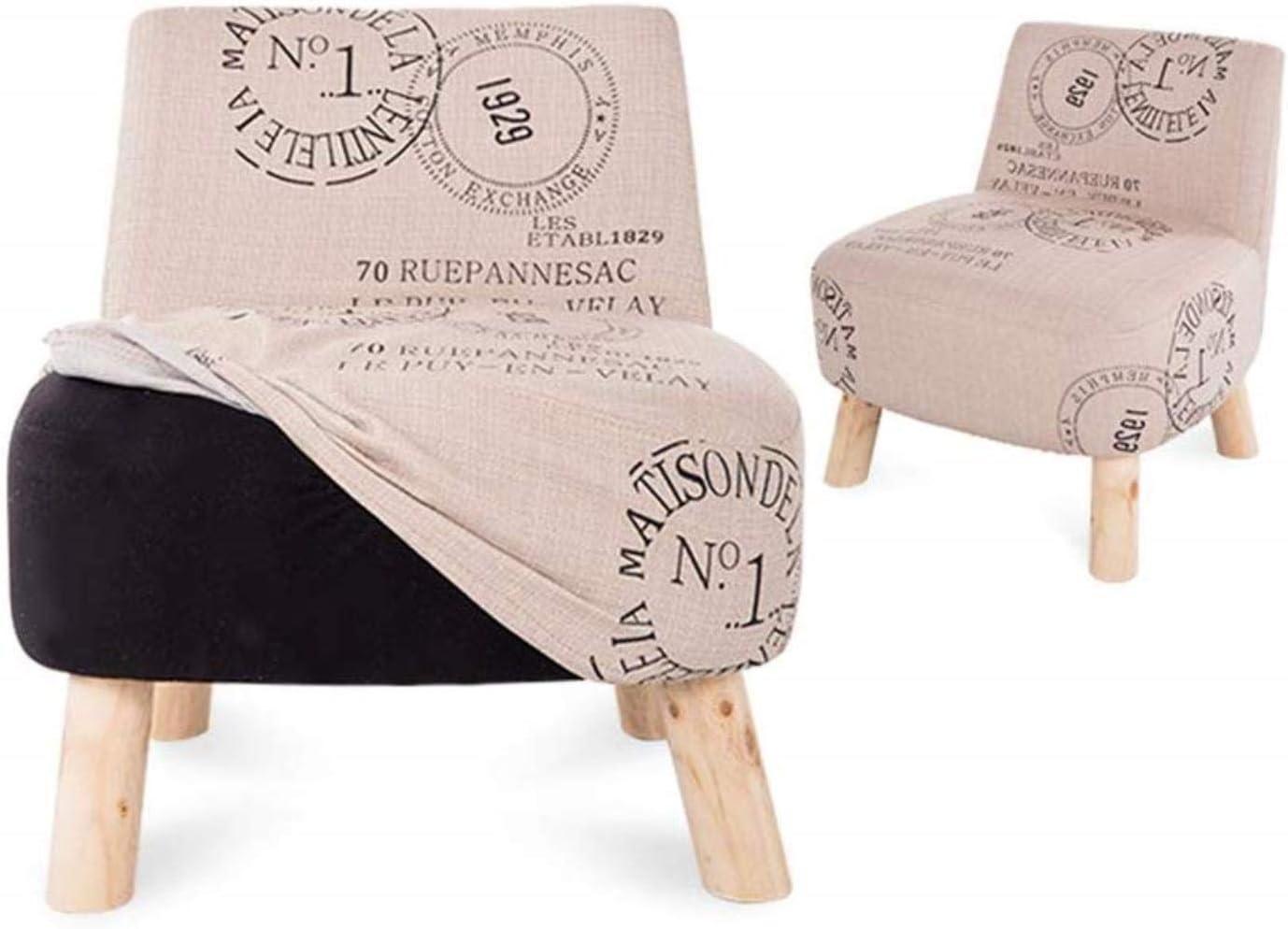 Stable Tabouret En Bois Massif Chaise Arrière Tabouret De Vanité Tabouret Bas Canapé Chaise Durable (Color : #8) #1