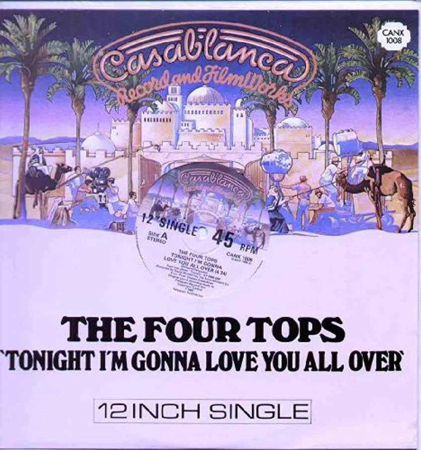 Four Tops - Tonight I'm Gonna Love You All Over - 12 inch vinyl