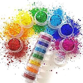 Best rainbow glitter face makeup Reviews