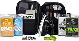 Demon Complete Plus Ski Tune Kit with Ski Wax Iron and Over 1 lb. of Demon Ski & Snowboard Wax Included