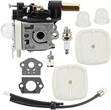 Mckin RB-K75 SRM210 Carburetor for Echo Trimmer Parts PE200 Carb Fuel Line Kit Primer Bulb Weed Eater GT200 SRM 210 PE 200 HC150 SRM211 GT200