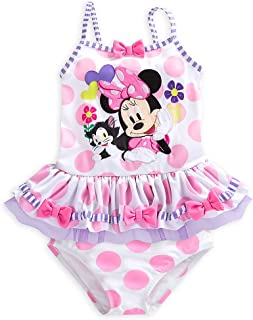 f51aa092c1 Disney Minnie Mouse Clubhouse Deluxe Swimsuit for Girls - 2-Piece White