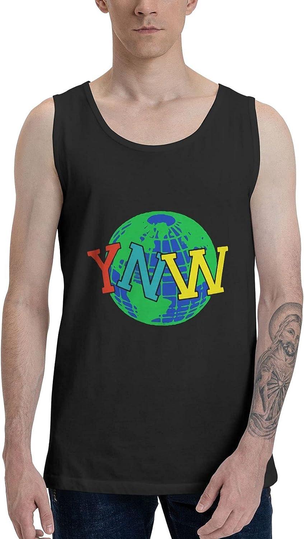 Ynw Melly Tank Top Man's Summer Sleeveless T-Shirts Stylish Vest