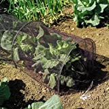 LARGE 3m CLOCHE GROW TUNNEL NETTING. PROTECT PLANTS FROM BIRD DAMAGE