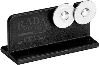Rada Cutlery Quick Edge afilador de Cuchillos con Ruedas de Acero Templado (diseñado para Rada Cuchillos), R119