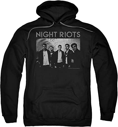 Night Riots - - Sweat à Capuche à Capuchon pour Hommes